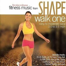 Various Artists Shape Fitness Music: Walk 1 60s Hits CD