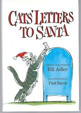 CATS' LETTERS TO SANTA compiled by Bill Adler (Hardcover 2004)