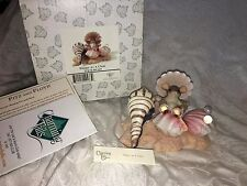 "CHARMING TAILS ""HAPPY AS A CLAM"" SEA SHELLS MOUSE NIB"