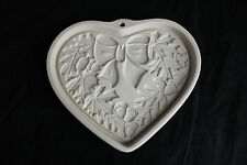 Pampered Chef Autumn Wreath Stoneware Heart Mold 2003 USA New Craft Art Limited