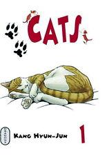 Collection complète de mangas Cats en français - Tomes 1 à 5 - Dragons