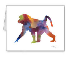 Baboon Note Cards With Envelopes