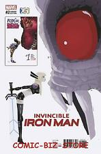INVINCIBLE IRON MAN #2 (2016) 1ST PRINTING CAMPION XCI VARIANT COVER