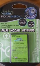 Digital Energy Camera Battery 3.7V 1000mAh Fuji NP60 Kodak Olympus
