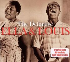 Definitive - Ella & Louis (2010, CD NEUF)3 DISC SET