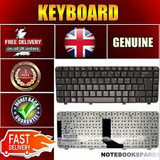 For HP COMPAQ PRESARIO V3731TU V3732AU Notebook Keyboard Dark Brown UK No Frame