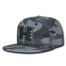 NCAA University of Hawaii Warriors Camo Camouflage Snapback Baseball Caps Hats