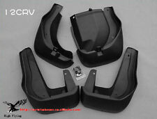 Molded Splash Guards Mud Flaps - Front & Rear For Honda CRV 2012 2013 2014 2015