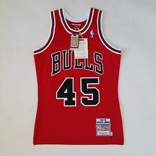 100% Authentic Michael Jordan Mitchell & Ness 94 95 Bulls NBA Jersey Size 36 S