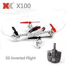 **2017** XK X100 3D RC Quadcopter Drone Robot 2.4G 4CH 6 Axis LED RTF Helicopter