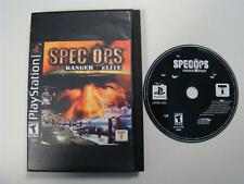 Spec Ops: Ranger Elite PS1 Disc Only! Playstation Sony PSX