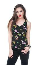 Jawbreaker Clothing Twisted Fast Food Vest cupcake skull kawaii emo punk goth m