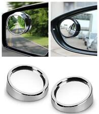 Silver Frame Car Rearview Blind Spot Side Rear View Mirror Adjustable For Ford