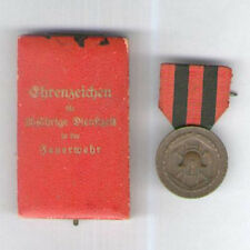 GERMANY, Wurttemberg. Fire Service Decoration 1919-1925 in case of issue