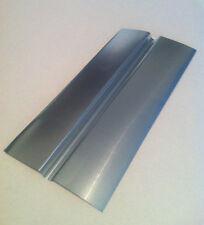 """(10) Aluminum Radiant Heat Emission Plates LARGE 7/8"""" SINGLE Groove $1.00/ea"""