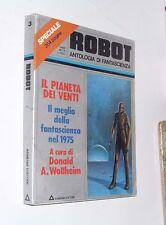 ( f2 )  ROBOT 3 SPECIALE rivista di fantascienza ARMENIA il meglio fs 1975