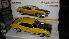 1.18 CLASSIC CARLECTABLES FORD FALCON XA RP083 SEDAN YELLOW GLOW 18539  AWESOME
