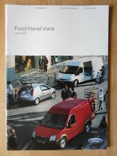 FORD PANEL VANS orig 2004 UK Mkt Prestige Brochure - Fiesta Transit & Connect