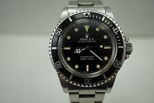 ROLEX 5513 SUBMARINER STAINLESS STEEL w/OYSTER BRACELET DATES 1986 !