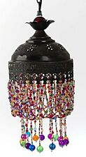NEW UNIQUE MOROCCAN STYLE COLORFUL BEADED LAMP PENDANT LIGHT OP02