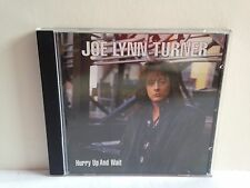 CD Joe Lynn Turner - Hurry Up and Wait 1999 M-/M-