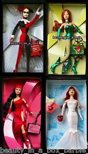 Harley Quinn Barbie Doll Poison Ivy Mary Jane Electra Super Hero NO BOXES Lot 4
