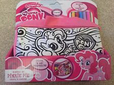 "NEW "" MY LITTLE PONY"" SCRIBBLE ME HANDBAG - PINK PINKIE PIE"