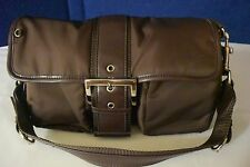 Franco Sarto Nylon Brown Purse  NO RESERVE