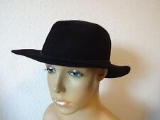 DDR VEB Cottbus *chapeau*hat*sombrero* Damenhut * schwarz* 56/57