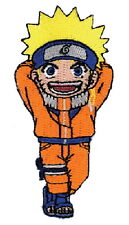 """Naruto Laughing Figure Embroidered  4"""" Patch"""