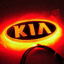 4D Car Led Real Logo Light Auto Badge Emblem Tail Lamp For KIA SOUL Forte CERATO