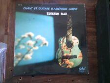 chant et guitare d'amérique latine - eduardo Falu - disque Festival FLDX 542