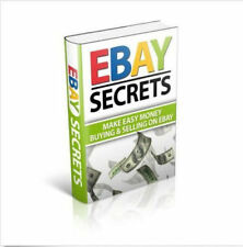 101 Ebay Auction Secrets Revealed How to Make money (Ebook pdf + Resell rights)