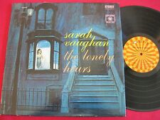 SARAH VAUGHAN THE LONELY HOURS - ROULETTE SR 52104 STEREO VG++/EX VOCAL JAZZ LP