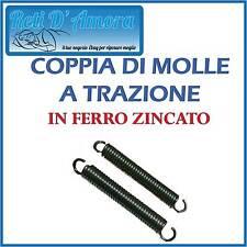 COPPIA DI MOLLE A TRAZIONE IN FERRO ZINCATO COPPIE