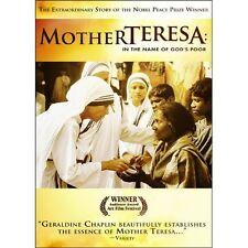 Mother Teresa: In the Name of God's Poor (DVD) Geraldine Chaplin BRAND NEW