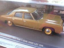 Chevrolet Bel Air/coche modelo/oro/sin usar/1:43