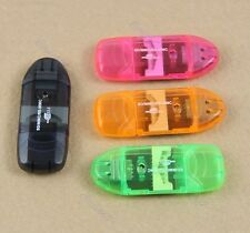 New 3Pcs USB Micro SD TF M2 SDHC Memory Stick Card Reader Adapter For PC Laptop