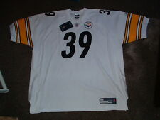 WILLLIE PARKER #39 STEELERS AUTHENTIC AWAY REEBOK FOOTBALL  JERSEY sz 58 NWT