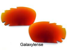 Galaxy Replacement Lenses For Oakley Jawbone Fire Red Polarized 100% UVAB