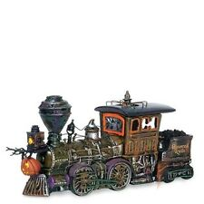 Dept 56 Halloween Haunted Rails Engine & Coal Car #800001 NIB FREE SHIP OFFER