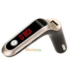 FM Transmitter Multifunction 4-in-1 CAR Bluetooth with USB Gold