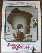 Ancienne Affiche Cinéma Maison de poupée. Cinema Movie Poster. Jane FONDA.