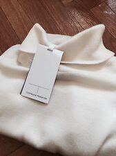 Cuello de rodillo para hombre Premium Jersey de lana Merino Medio