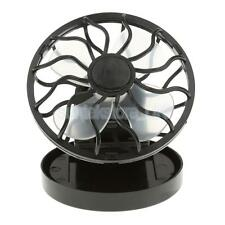Mini Clip-on Solar Cell Fan Sun Power Energy Panel Outdoor Cooling Cooler