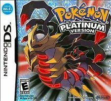 NDS POKEMON PLATINUM VERSION (Nintendo DS, 2009) Brand New! Factory Sealed N3DS