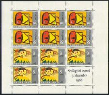 Netherlands 1966 Child Welfare/Animation 11v sht n31922
