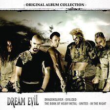 DREAM EVIL - ORIGINAL ALBUM COLLECTION: DISCOVERING DREAM EVIL  5 CD NEU