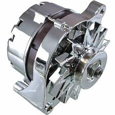 HI QUALITY NEW CHROME ALTERNATOR FOR FORD LINCOLN MERCURY MUSTANG 80 AMPS