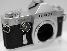 Ricoh Singlex TLS Pentax M42 Screw Mount 35mm Film SLR Camera Body Only **Read**